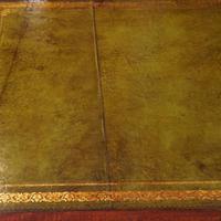 Edwardian mahogany large pedestal desk (14 of 14)