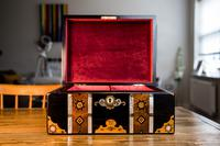 Stunning Inlaid Victorian Jewellery Box (8 of 14)