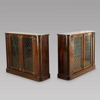 Pair of Early 19th Century Rosewood Chiffoniers (2 of 5)