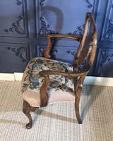 Quality Burr Walnut Child's Chair (5 of 13)
