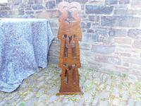 Arts & Crafts Carved Oak Book Rest (2 of 13)