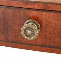 Small Regency Mahogany Dressing Mirror (5 of 8)