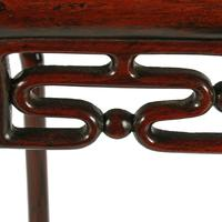 Late 19th Century Chinese Rosewood Stand (7 of 8)