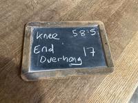 Bandy Leg French Bleached Oak Farmhouse Table (14 of 15)
