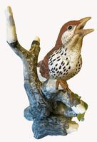 A Porcelain Figure of a Woodthrush, Andrea by Sardek (5 of 7)