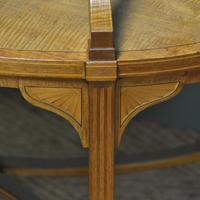 Quality Victorian Satinwood Two Tier Lamp Table (2 of 7)