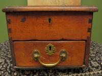 Antique Wooden Shop Till with Pull-out Drawer & Bell (4 of 14)