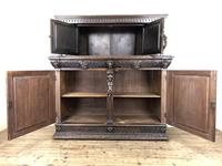 Antique 19th Century Carved Oak Court Cupboard (24 of 24)