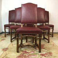 French Os De Mutton Set of 6 Dining Chairs (5 of 14)