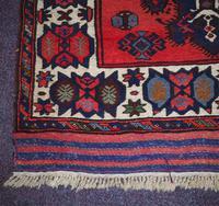 Gorgeous Vintage Tajikistan Tribal Wool Rug (2 of 6)