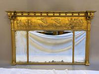19th Century Large Gilt Overmantle Mirror (5 of 16)