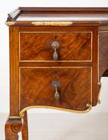 Quality Queen Anne Style Walnut Dressing Table & Mirror c.1920 (9 of 14)
