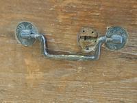 19th Century Oak Tool Chest (15 of 16)