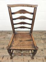 Pair of Antique Ladder Back Chairs (4 of 8)