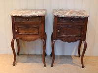 Pair Of French Walnut Bedside Cabinets (6 of 10)