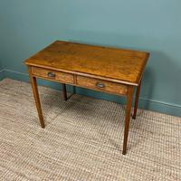 Georgian Country Oak Antique Side Table (3 of 8)