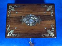 Victorian Jewellery Box with Mother of Pearl Inlay (11 of 13)
