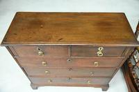Antique 18th Century Oak Chest of Drawers (3 of 10)