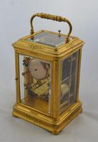 Early Striking Carriage Clock Billiet Robin Paris (3 of 7)