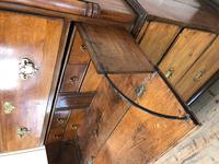 Early 19th Century Oak Secretaire Tallboy Chest on Chest (16 of 17)