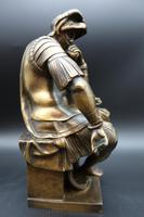 Finely Cast Early 20th Century Bronze Figure of a Centurion by R Bellair & Co (2 of 5)