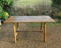 Antique Farmhouse Rustic / Industrial Table (7 of 9)
