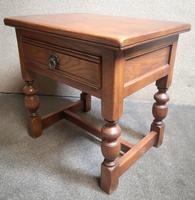 Light Oak Coffee / Side Table (3 of 8)