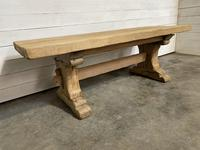 Rustic Bleached Oak Farmhouse Refectory  Table (8 of 21)