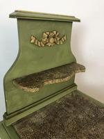 Antique French Painted Bedside Tables Pot Cupboards Original Paint (10 of 13)