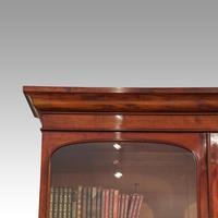 Victorian mahogany library bookcase (4 of 11)