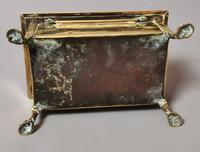 Antique Brass Tobacco Box, Heraldic (13 of 13)