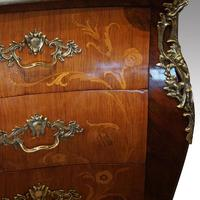 Continental Marquetry Bombe Commode Chest (7 of 14)