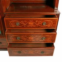 Marquetry Inlaid Wardrobe by Heal & Son (6 of 8)