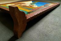 Augusta Coles Moroccan Cityscape Oil Painting Mahogany Fire Screen c.1911 (12 of 16)