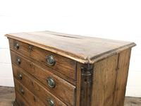 19th Century Elm Chest of Drawers (8 of 11)