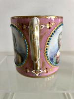 French Sevres Porcelain Cup Portraits of Louis XV & Mistresses, Circa 1760 (5 of 8)