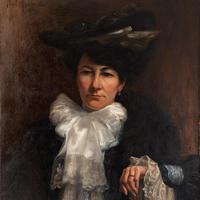 Paul-Antoine Hallez, Portrait of Lady with Umbrella (4 of 10)