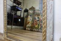 Elegant 19th Century French Original Painted Trumeau Mirror (8 of 13)