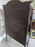 Edwardian Inlaid Display Cabinet (4 of 6)