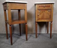 Pair of French Inlaid Mahogany Bedside Cupboards / Night Stands (7 of 14)