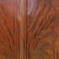 Mahogany Linen / Clothes Press (6 of 6)