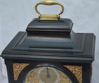 Josia Jessop London Twin Fusee Bracket Table Clock (10 of 10)