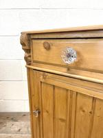 Two Similar Antique Pine Bedside Cupboards (6 of 10)
