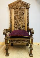 Gothic Revival Throne (8 of 20)