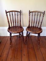 Pair of Antique Thonet Style Bentwood Chairs (2 of 14)