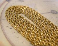 Edwardian Ladies Pocket Watch Guard Chain 1900 Antique 12 Gold Filled (5 of 10)