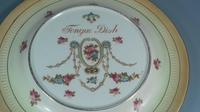 Crown Devon S F & co Edwardian ceramic tongue dish platter swags (14 of 15)
