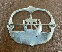 Silver Scottish Viking Ship Brooch (2 of 2)