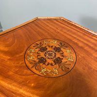 Unusual Victorian Satinwood Jardinière / Side Table (7 of 8)