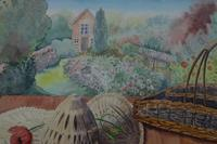 Still life in the artists garden by Joan Warburton (4 of 6)